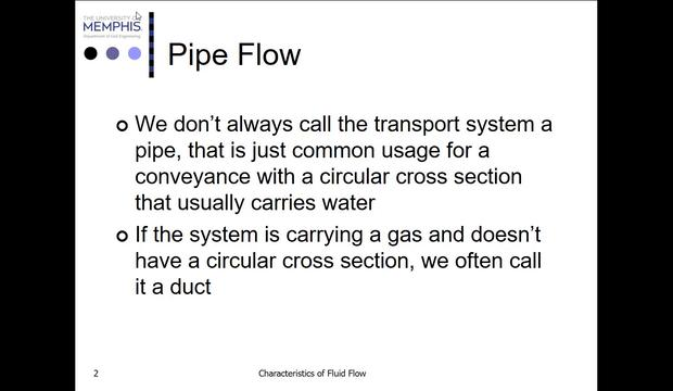Friction Loss in Pipe Flow - Part 1