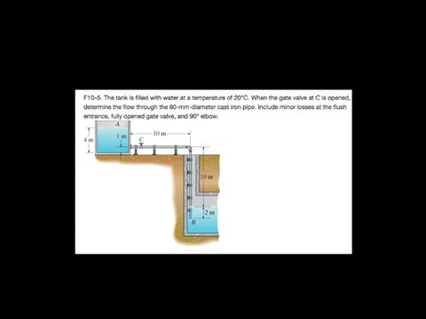 Flow Solution - Piping System Problem